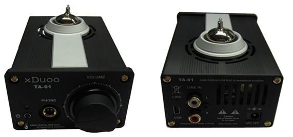 XDUOO TA01 小胆机 解码是双WM8740 放是胆放 小巧 做工好 素质还不错 与C4相仿 但是走向完全不同我一般拿来当耳放用 用来推铁三角 歌德AKG都还不错 解析还算可以 人声微甜带暖。  产品参数 输出功率: 2100mW(32负载) 频率响应: 10Hz~100KHz(0.5dB) 增益:+6/+17 dB 失真度:0.